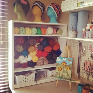 studio yarn storage