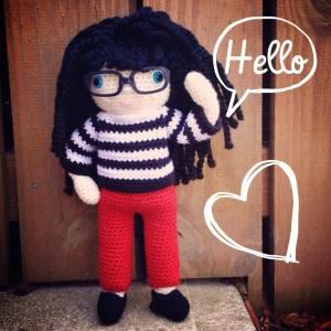 mini me doll by shanonigans