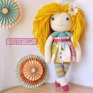 crochet daisy dolligans