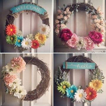 shanonigans spring-wreaths